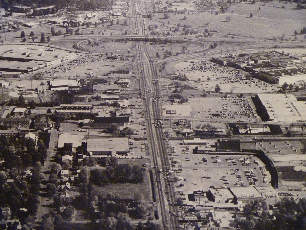 Shelbyville Rd before Oxmoor Mall built 1981