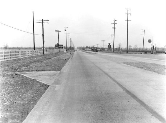 Shelbyville Rd between St. Matthews and Middletown 1930