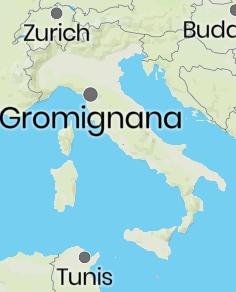 Gromignana location