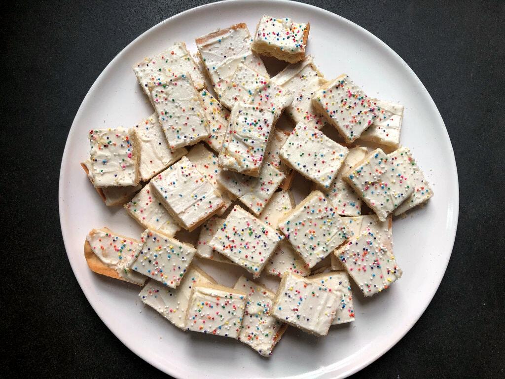 sheet cake cookie