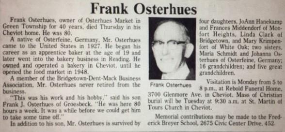 Frank O