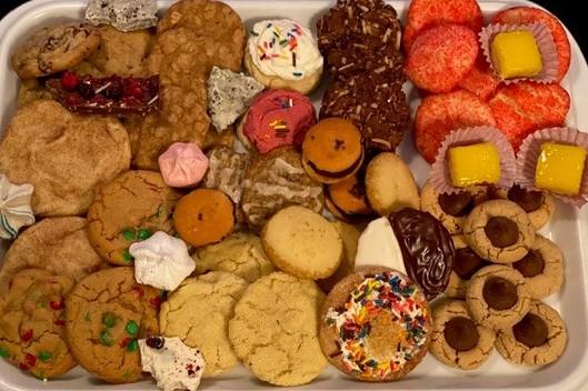 GK cookie platter
