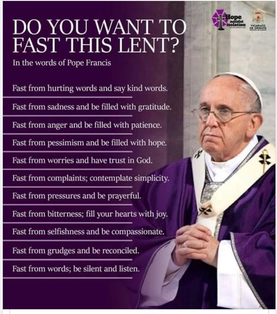 Lenten Fast