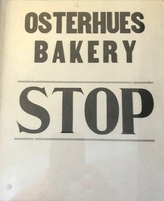 Osterhues sign