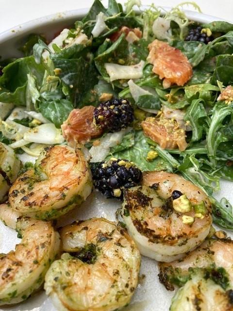 shrimp and bb salad